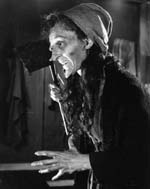 "Dorothy Neumann as the friendly witch in ""The Undead"""